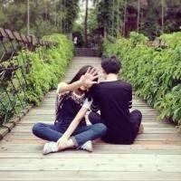qq情侣头像一张两个人 恩爱唯美的情侣QQ头像