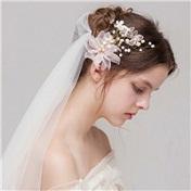精选唯美好看的女生婚纱头像