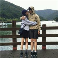 时尚超搭的qq情侣头像精选十六张