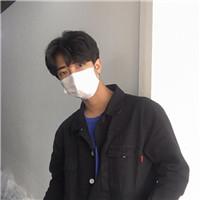 帅气戴口罩的qq男生头像大全图片