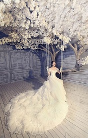 唯美好看的女生婚纱皮肤精选
