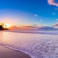 精选好看的阳光沙滩风景头像