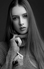 高颜值个性欧美女生专属黑白皮肤精选八张