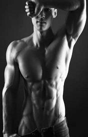 霸气肌肉型男黑白皮肤专属男生精选八张