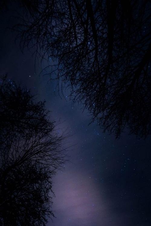 超好看简约意境夜空专题皮肤六张