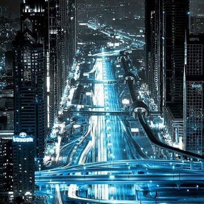 好看城市夜景扣扣头像