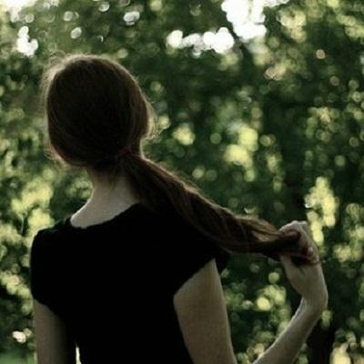 女生背影头像